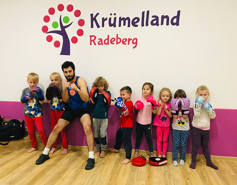 Kickboxen für Kids ab 4 Jahren