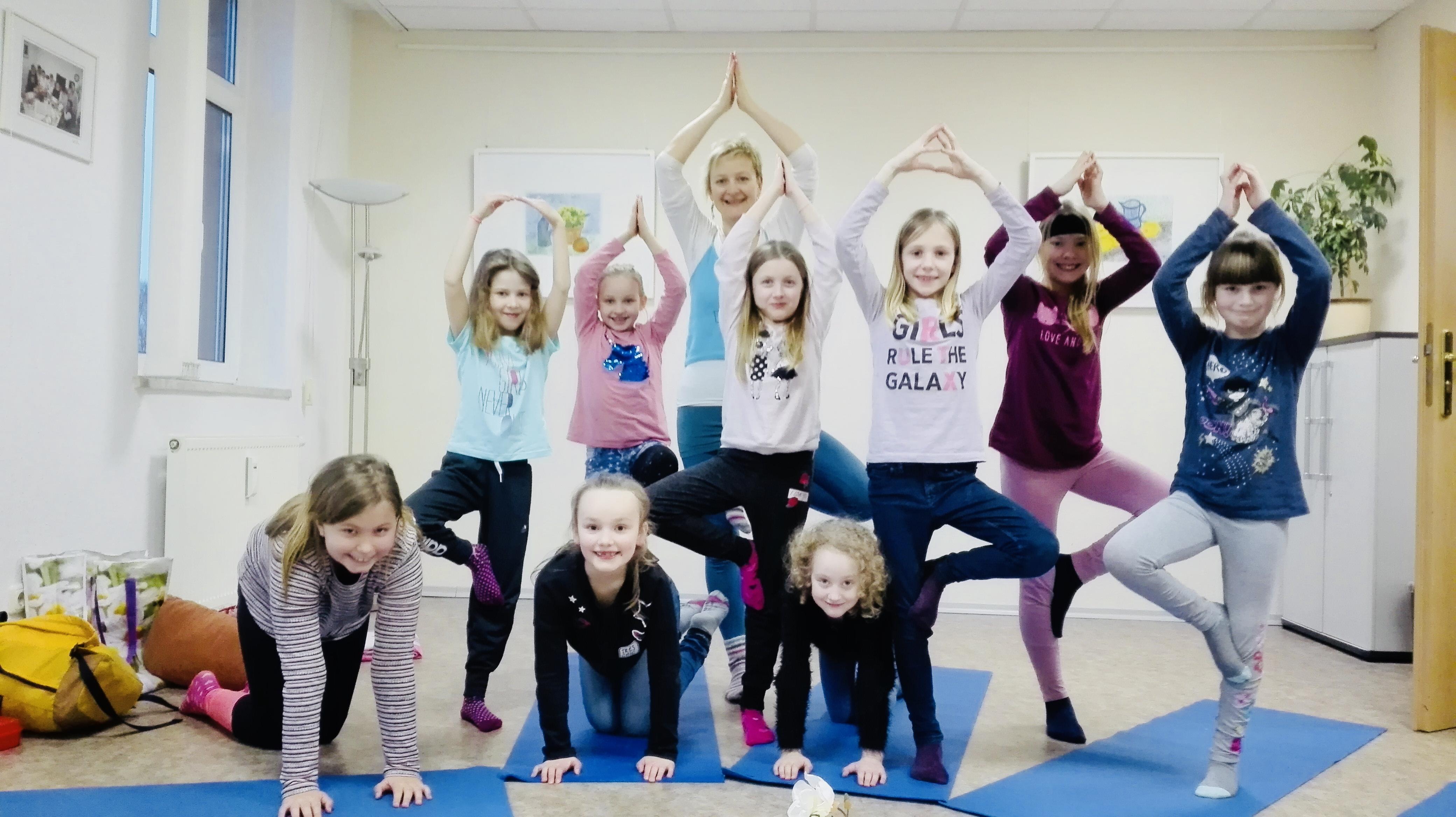 Kinderyoga für Kids von 6 – 11 Jahren